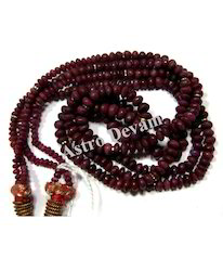 Ruby (Manikya) Mala with Two String