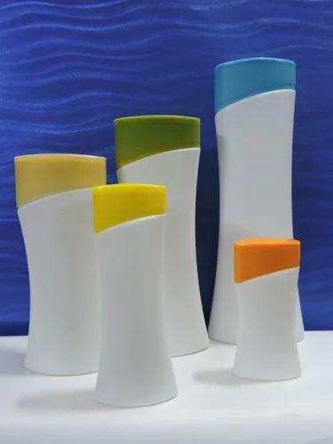 Shampoo and Lotion Bottle-Curve Shape