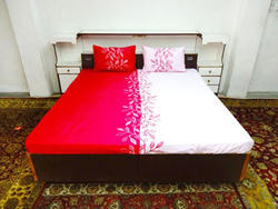 Embroidered Cotton Bed-Sheet Set