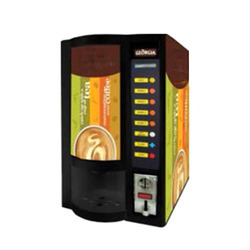 4 Select Beverage Vending Machine with Coin Payment System