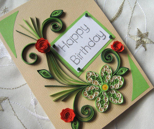 17 Best Images About Birthday Cards On Pinterest: Handmade Birthday Greeting Card