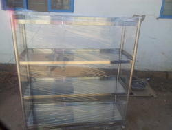 Storage Rack with 4 Shelves