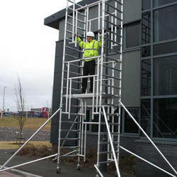 Single Width Scaffold without Stair for Hire