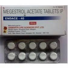 Endace - 40mg Megestrol Acetate Tablets
