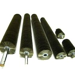Cylindrical Nylon Brush Roller