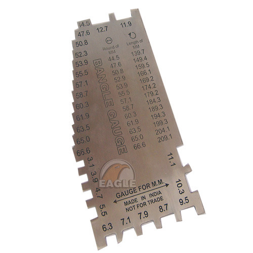 Gauges 6 mm wide brass finger gauges manufacturer from rajkot keyboard keysfo Gallery