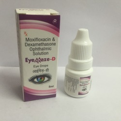 Moxyfloxacin And Dextamethasone Opthalmic Eye Drops