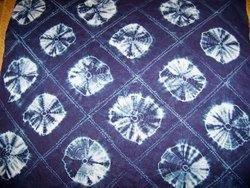 Indigo Shibori Print Fabric
