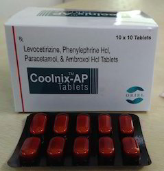 Levocetirizine Phenylephrine Hcl And Ambroxol Hcl Tablet