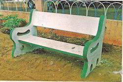 Precast Garden Bench With Rest