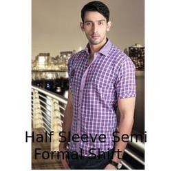63f9dd88b6 Semi Formal Shirts - Mens Shirt Manufacturer from Indore