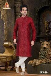 Classy Trendy Men Kurta With Churidar