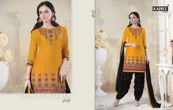 Full Sleeves Designer Patiala Suit