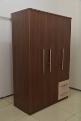Simon 3 Door Wooden Wardrobe