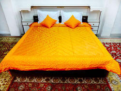 Gold Patchwork Quilts