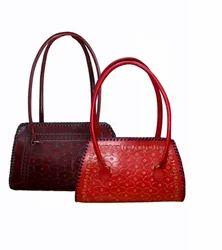Handmade Leather Lady Hand Bag