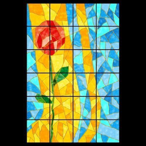 Wall Tiles - Designer Art Rose Wall Tile Manufacturer from Allahabad