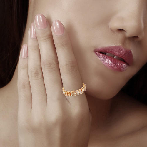 14K Gold Baguettes Ring