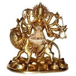 Brass Kali Maa Statue