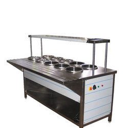 Bain Marie Two Counter