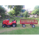 Garden Tractor Mower with Trolley