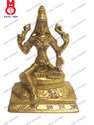 Laxmi Sitting On SQ. Base Statue