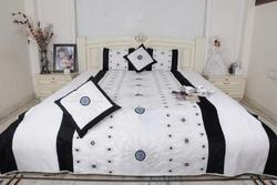 Silk Dupion Queen Bed Sheet