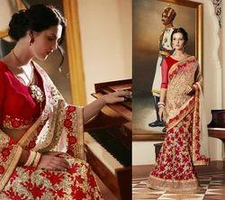 Heavy Wedding Saree