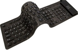 adesso flexible full sized keyboard with usb and ps 2 adapter akb 230