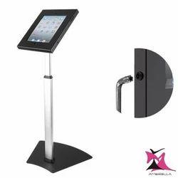 Anti Theft Height Adjustable iPad Floor Stand