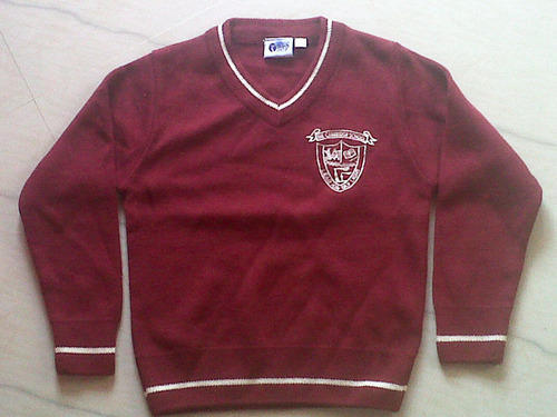 Uniform Sweter Woolen School Uniform Sweater Manufacturer From Delhi