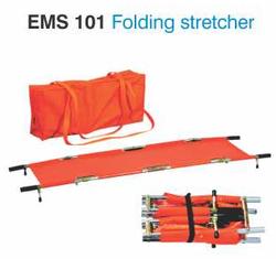 emergency folding stretcher ems 101