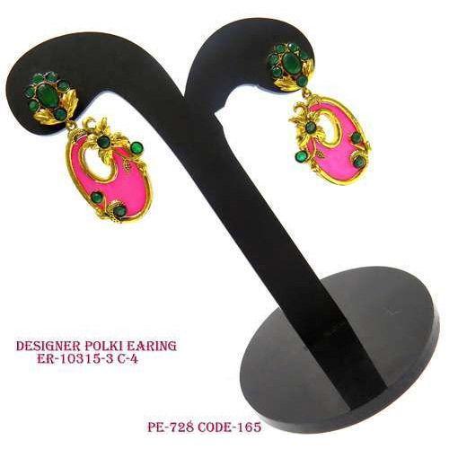 Designer Polki Earring