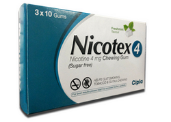 Nicotex 4 mg Cipla