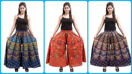 Ladies Palazzo Skirt