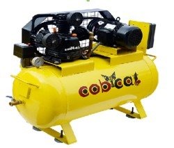 COBCAT Air Compressor Single Stage, Base Mount, CAT150S