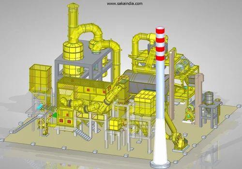 Calcium Chloride Granulation System