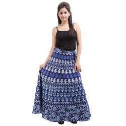 Girls Long Wrap Skirt