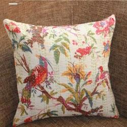 Stitched Kantha Cushion Cover