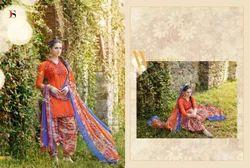 Cotton Printed Pakistani Salwar Kameez Suit
