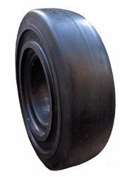 Smooth Solid Resilient Tyres