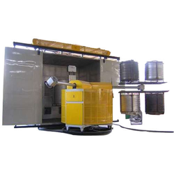 Bi Axial Machine For Water Storage Tank