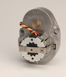 Reversible Synchronous Motor With  Spur Gearhead.