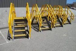 FRP Platform Ladders