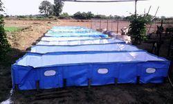 PVC Vermi Compost Beds Portable