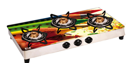Three Burner Glass Top Stoves   3 Burner Glass Top Cook Top Manufacturer  From New Delhi