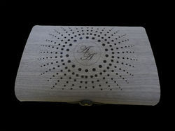 Laser Jaali Black Walnut Box