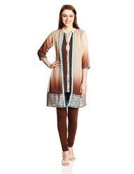 Fashionable Georgette Embroidered Kurta