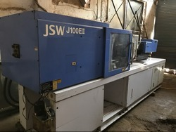 100 Ton JSW Used Injection Molding Machine