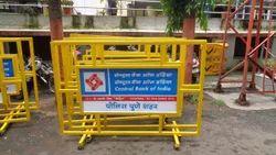 Traffic Barricades Advertisement